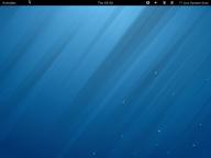 Fedora Linux 18 Default Desktop